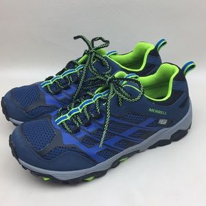 Merrell Boy's Moab Low Waterproof Hiking Sneakers